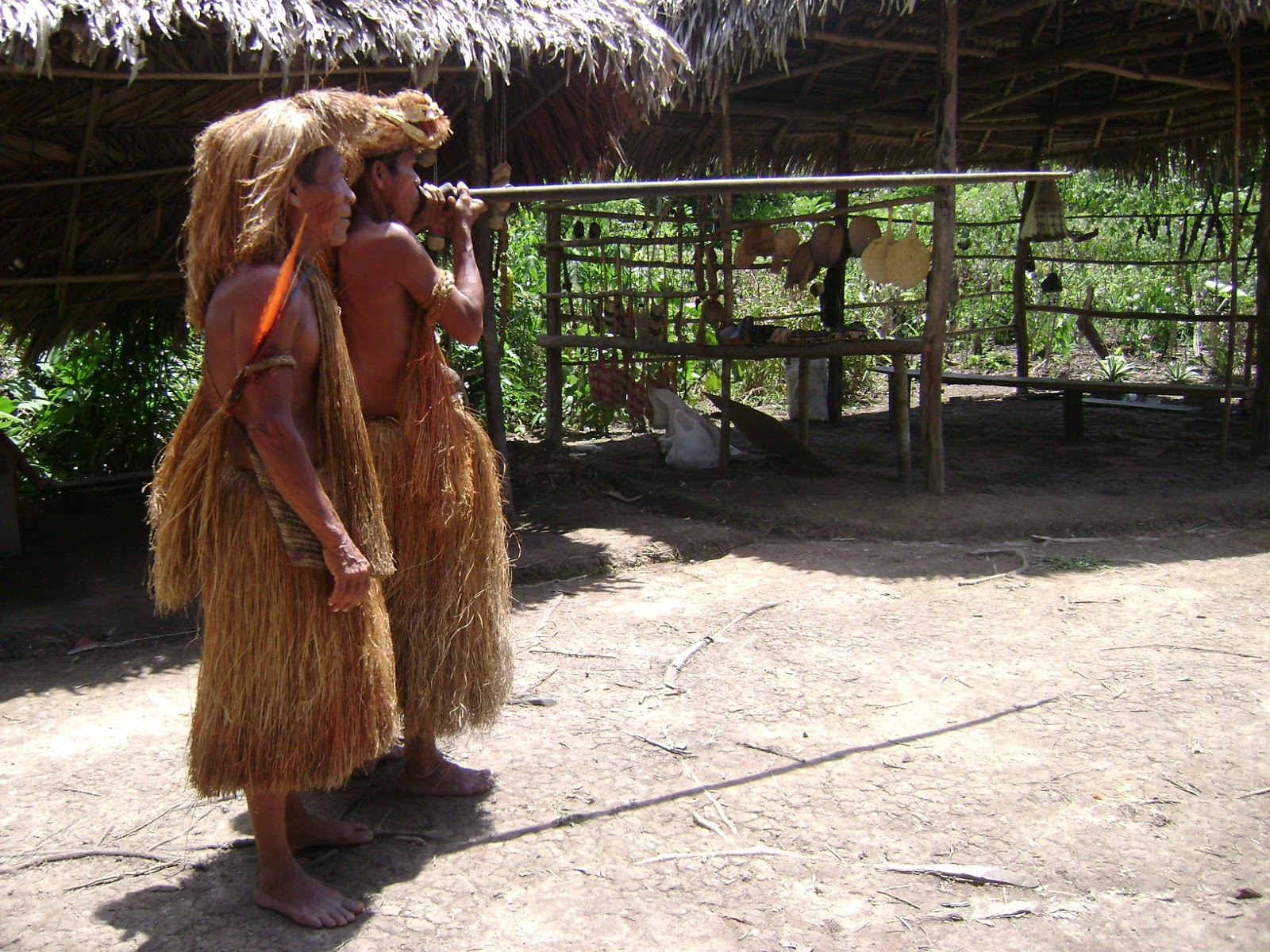 #Zarabatana, Arma Indígena