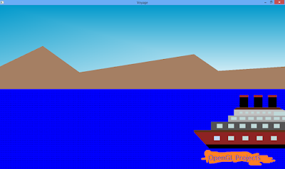 """The Voyage""- Opengl Projects with source code and Report"