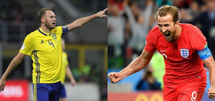 Prediksi Swedia vs Inggris Perempat Final Piala Dunia 2018