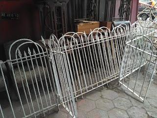Dijual Pagar Besi Lawas Peninggalan Londo