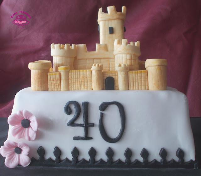 Tarta Castillo Atalaya de Villena