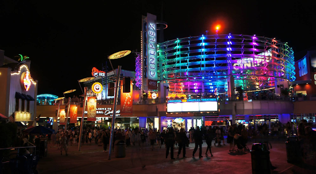 Baladas e bares no Universal CityWalk Orlando