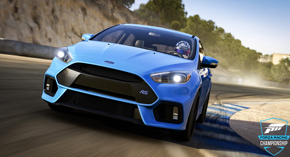 Win A Ford Focus RS In The Forza Racing Championship