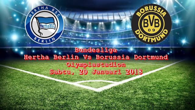 Prediksi Bola Liga Jerman Hertha Berlin vs Borussia Dortmund 20 Januari 2018