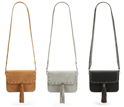 Steve Madden Safari Faux Leather Crossbody $27 (reg $78)