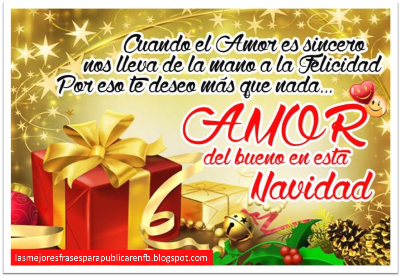 Frases De Navidad Cuando El Amor Es Sincero