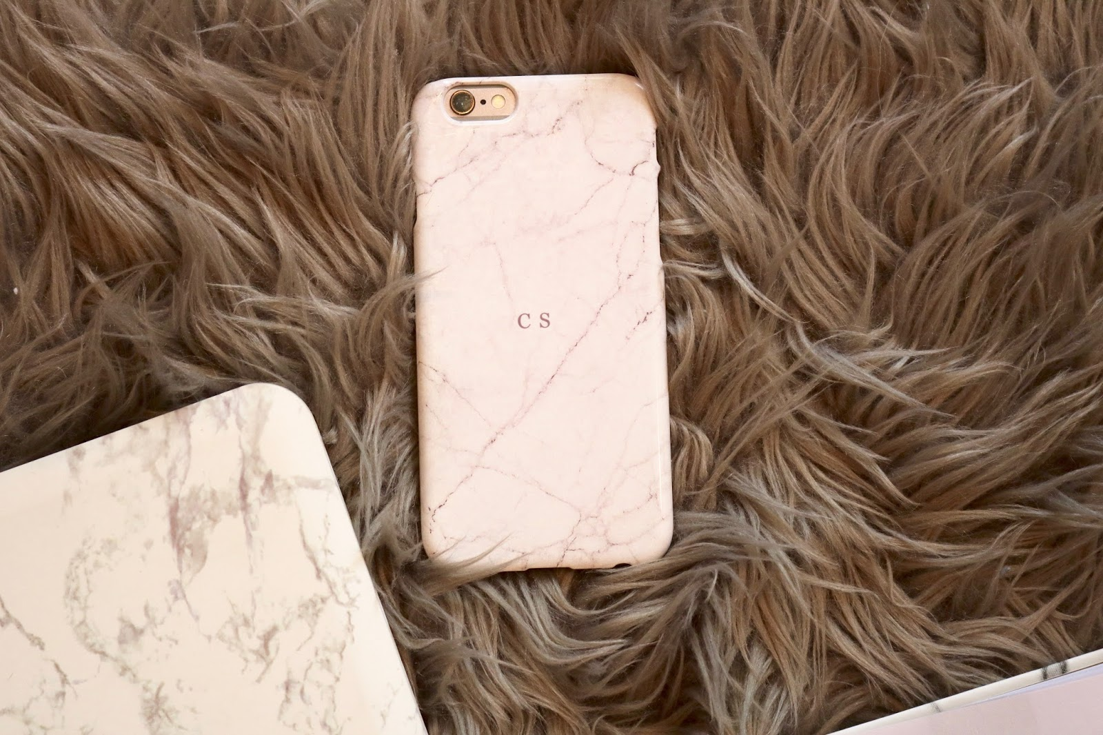Marble Phone Case White