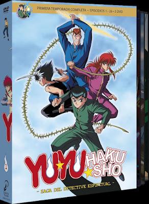 YU YU HAKUSHO BOX 1. Ep 1 a 25. La saga del detective espiritual.