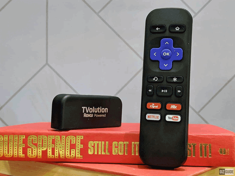 The new TVolution powered by Roku!
