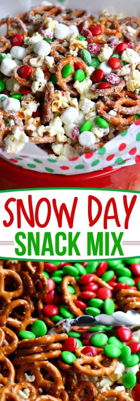 Snow Day Snack Mix