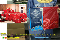Sprei Kendra Signature Queen 160×200 Royal Wedding Karakter Kartun Cina Merah Dewasa