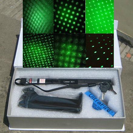 Green Laser Pointer Type 303 Sinar Hijau + Kunci Pengaman