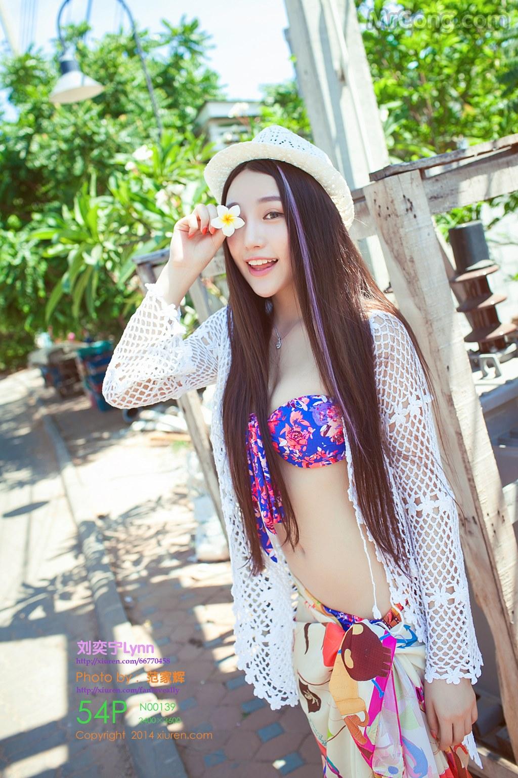 XIUREN No.139: Người mẫu Lynn (刘奕宁) (55 ảnh)