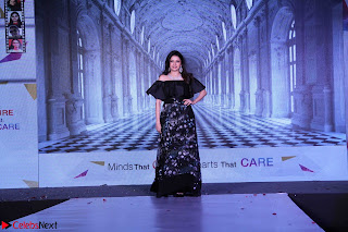 Bhagyashree and Diana Hayden walks the ramp for Mumbai Obstetrics and Gynecological Society Annual Fashion Show 009.JPG