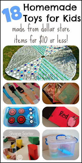 18 homemade toys for kids from And Next Comes L