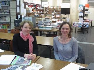 Les enseignantes à l'origine du projet de collecte de récits des lycéens