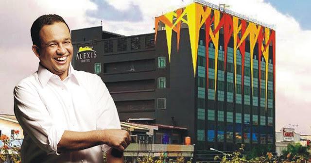 Mantab! Anies Wujudkan Janjinya, Hotel Alexis Ditutup Mulai Hari Ini, Pemprov DKI Tak Perpanjang Izin Usaha