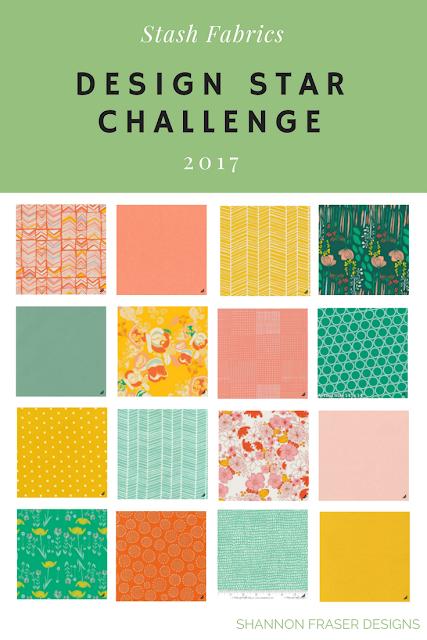 Stash Fabrics Design Star Challenge | Round 2 | Shannon Fraser Designs | Quilting Cotton | Designer Fabrics |