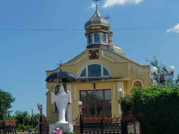 Трускавець. Церква Покрови Пресвятої Богородиці
