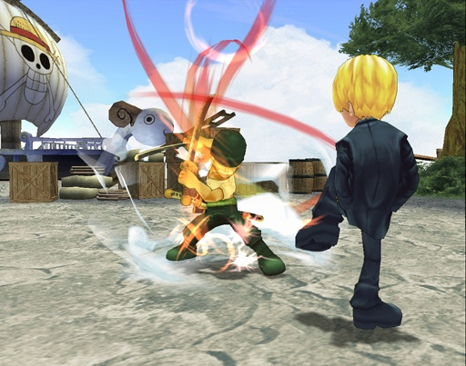 One Piece Adventure Zoro vs Sanji
