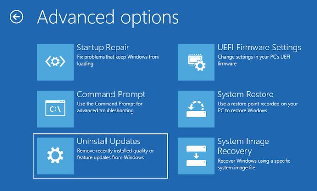 Uninstall OS Windows 10
