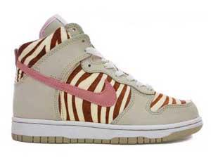 8f6c512dc299 Nike Zebra Animal Print Dunks High SB Women Shoes Hot Sale ...