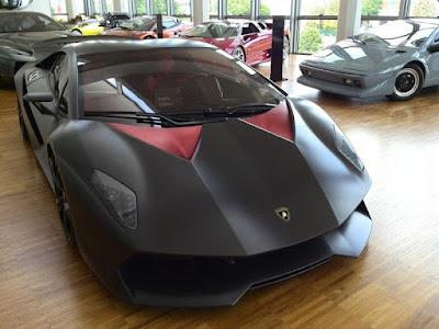 La Lamborghini Sesto Elemento a fait ses débuts au Salon de Paris