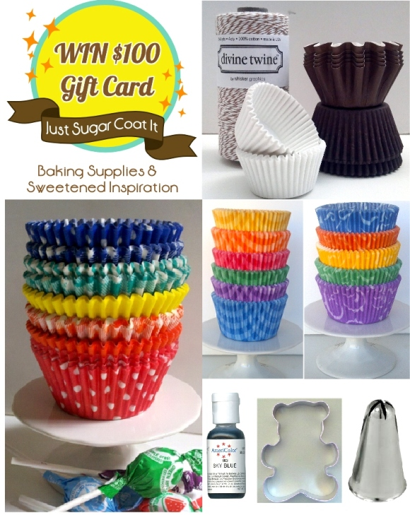 Giveaway | $100 Baking Supplies Shopping Spree