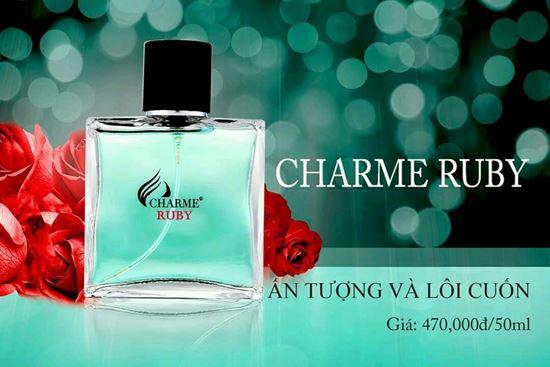 Review nước hoa Charme Ruby 50ml mùi hương nam tính