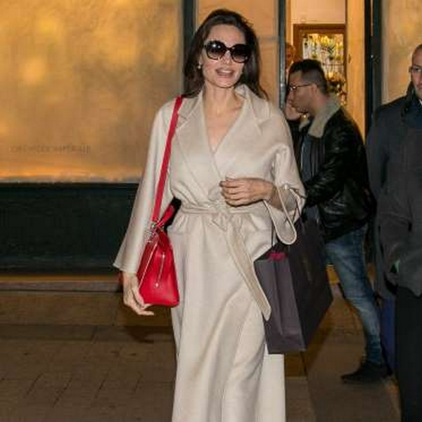 Angelina Jolie Just Wore the Most Unexpected Shoes, and We're in Love