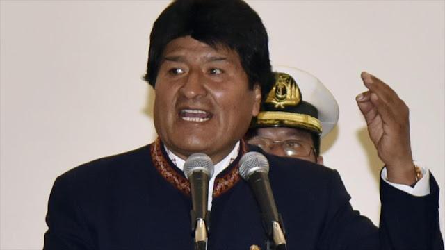 Bolivia alerta de las conspiraciones para asesinar a Morales