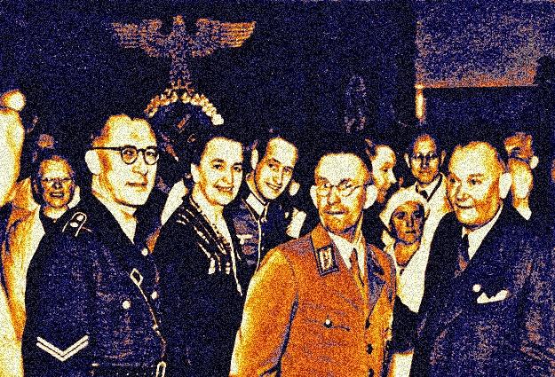 FOTO FAMÍLIA OETKER EM UM ENCONTRO DO PARTIDO SOCIALISTA NAZISTA