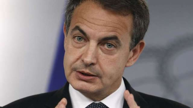 Venezolanos cacerolearon a Rodríguez Zapatero al salir de un acto en España