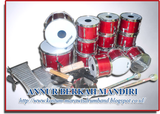 PAKET DRUM BAND TK SUPER QUALITY