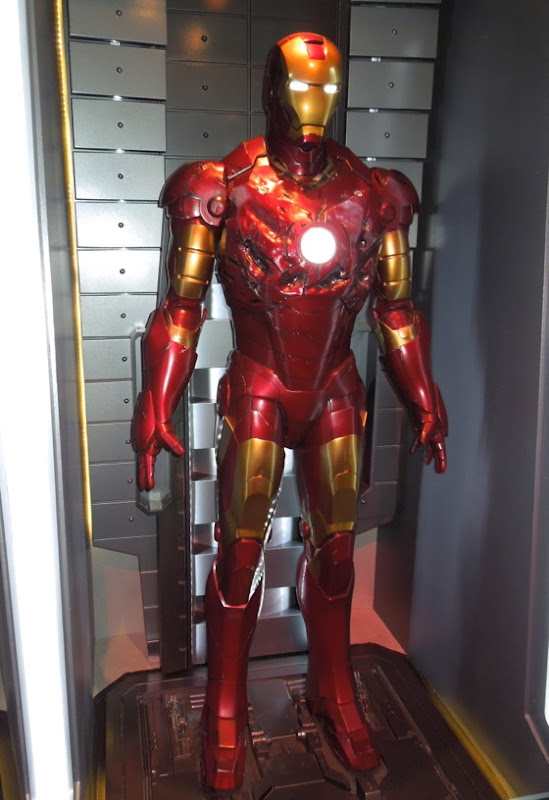 Damaged Iron Man Mark3 suit