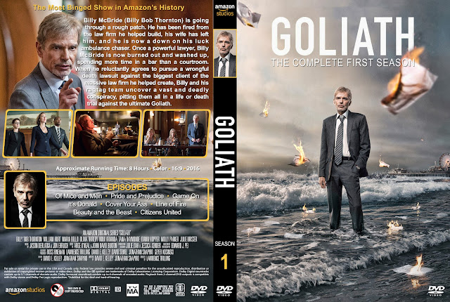 Goliath Season 1 DVD Cover