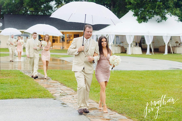 What To Wear To A Rainy Wedding