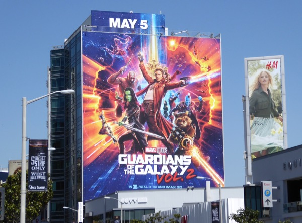 Guardians of Galaxy Vol 2 billboard