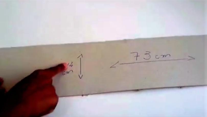 Cachecol no papelão - belanaselfie 2