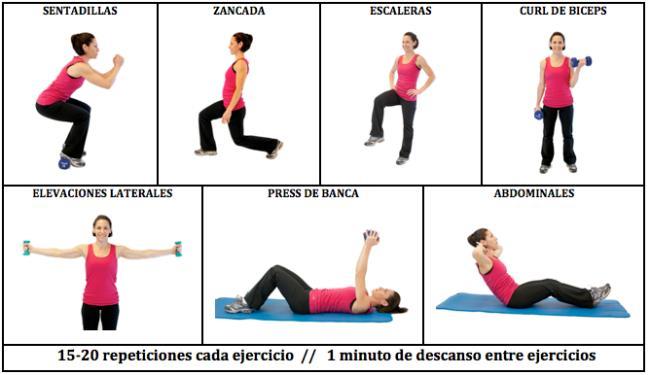 entrenamiento para bajar de peso rapido