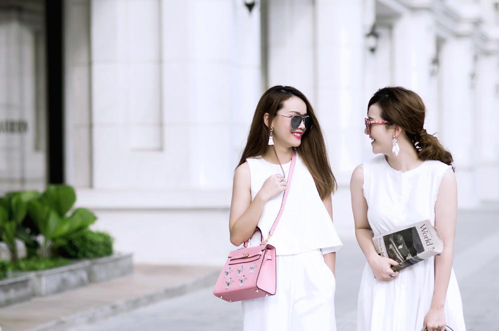 Yến Trang, Yến Nhi cá tính xuống phố marry