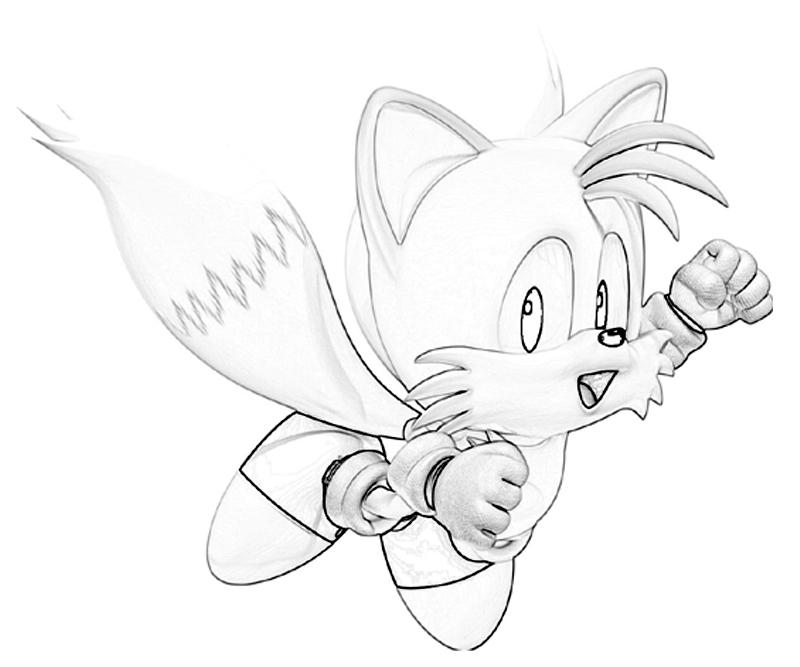 Sonic Generations Tails One Surfing