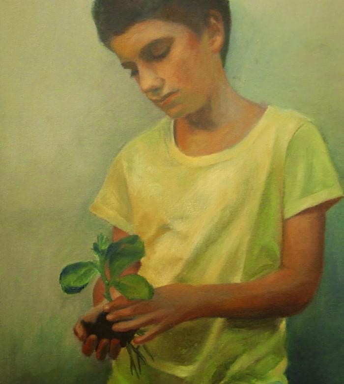 Австралийский художник. Sally Parnis