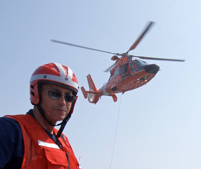 Jim Picciano Ready for Helo Operation