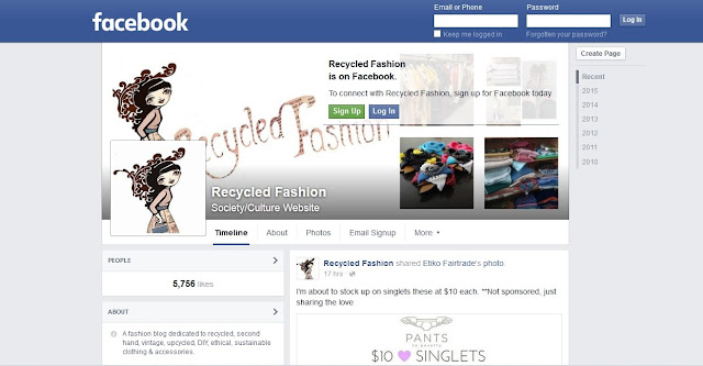 https://www.facebook.com/RecycledFashion/
