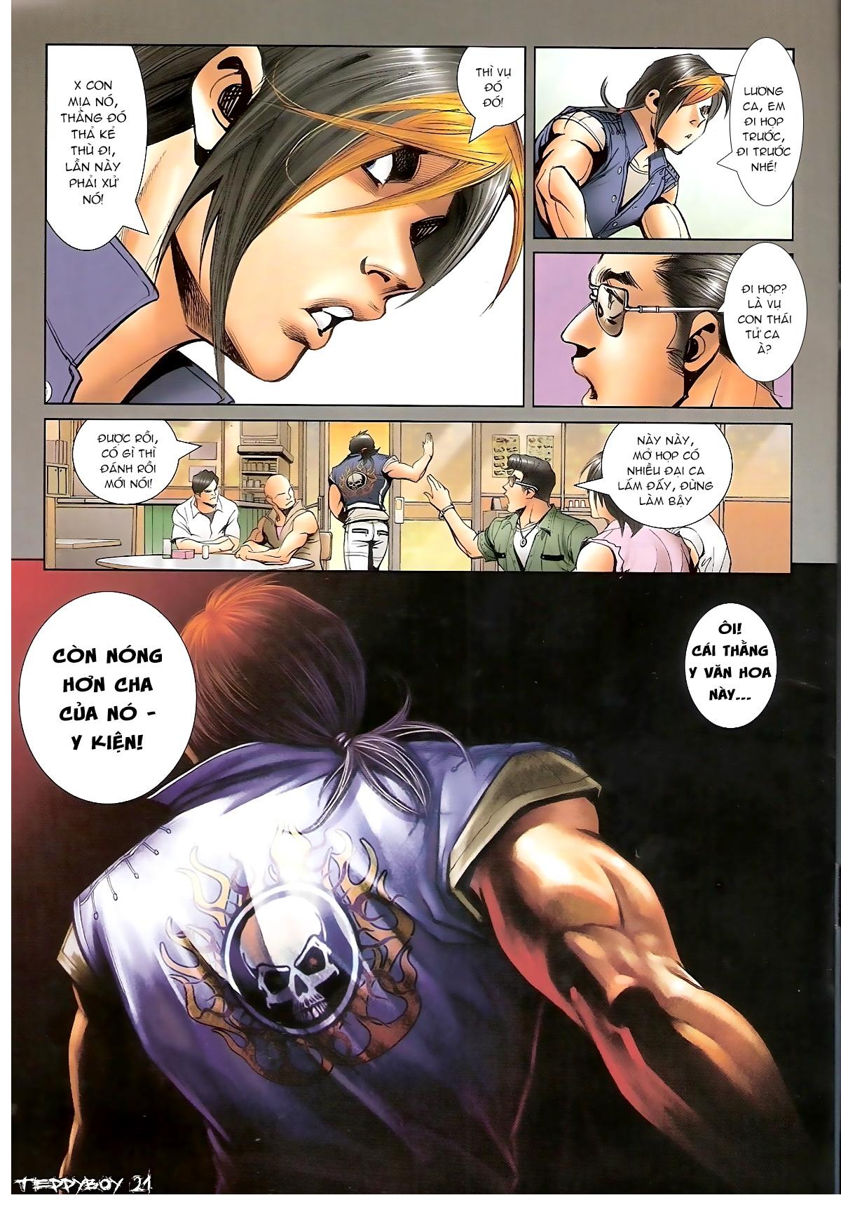 Người Trong Giang Hồ - Chapter 1320: Con trai Y Kiện - Pic 17