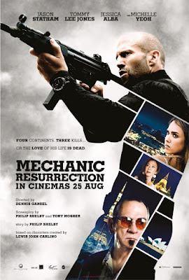 Mechanic: Resurrection 2016 DVD R1 NTSC Latino