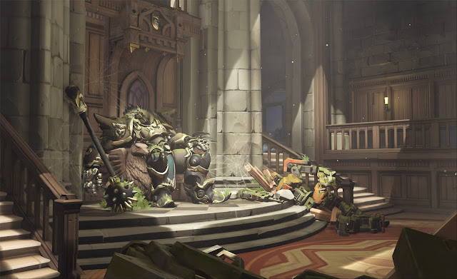 "New Map ""Eichenwalde"" Arrives on Overwatch Next Month"