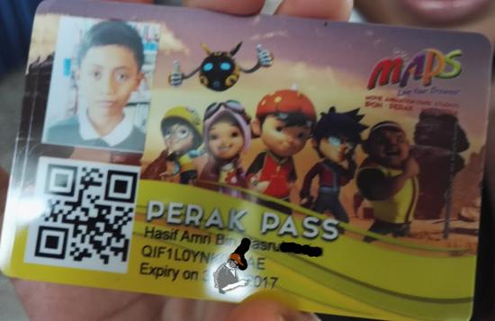 Kad MAPS Perak Pass