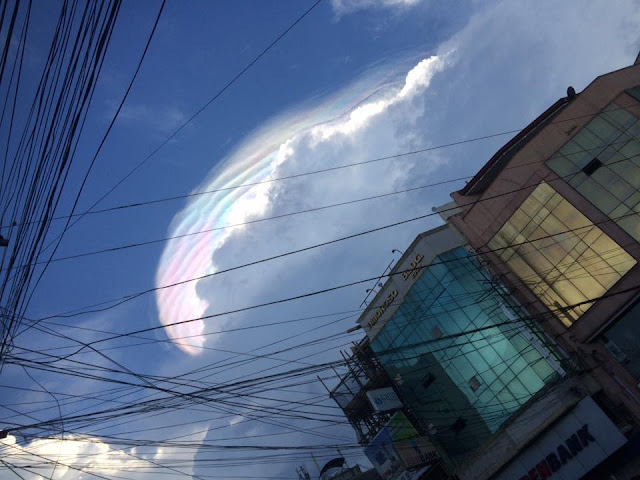 Strange 'Unicorn Sky' Seen In Pagadian City, Philippines! Unbelievable!